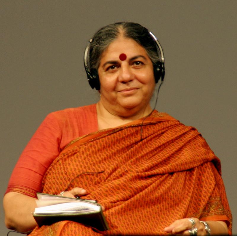 Vandana Shiva door Elke Wetzig (Elya) - Eigen werk, CC BY-SA 3.0, https://commons.wikimedia.org/w/index.php?curid=2231668